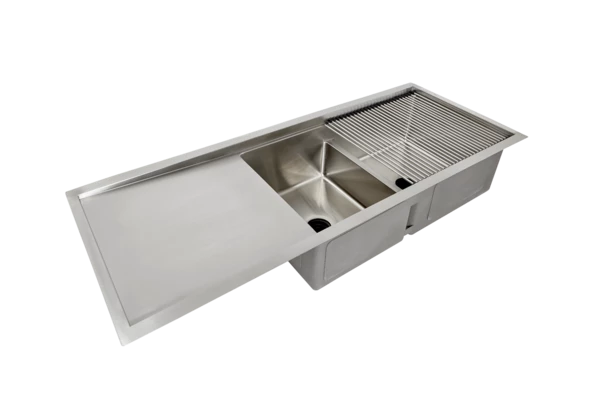 Best 50 Drainboard Ledge Sink Double Bowl Reversible 640 x 480
