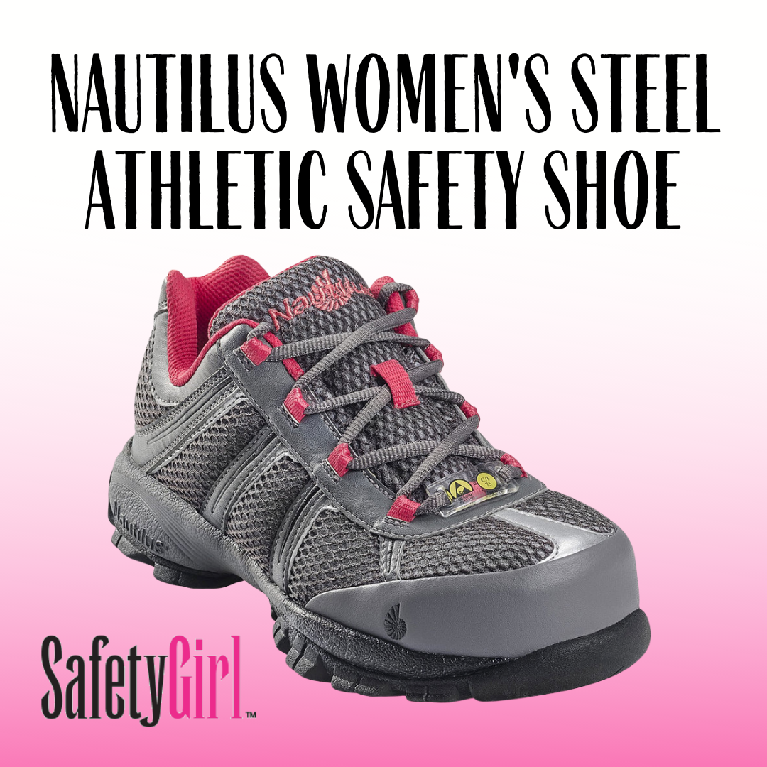 Nautilus Women's Steel Toe ESD Athletic Safety Shoe