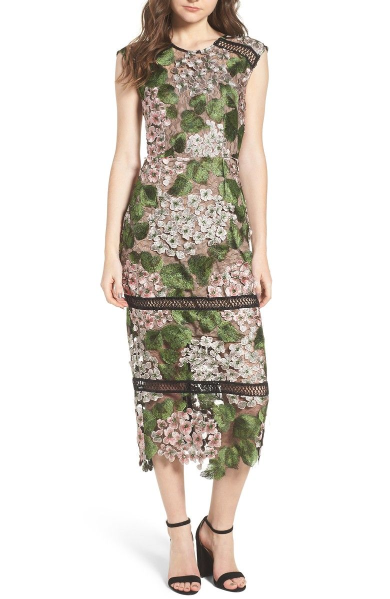 Lace Tea Length Dresses at Nordstrom's