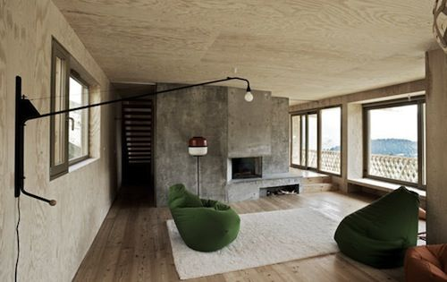 Plywood crazy: Chalet Lanel in France by Andreas Fuhrimann and Gabrielle Hächle