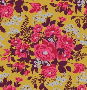 HEIRLOOM by Joel Dewberry Rose Bouquet in Gold