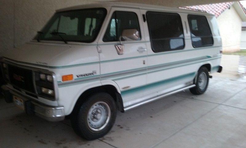 1993 Gmc Vandura 3 300 Ksl Com Day Van Classic Cars Van Life