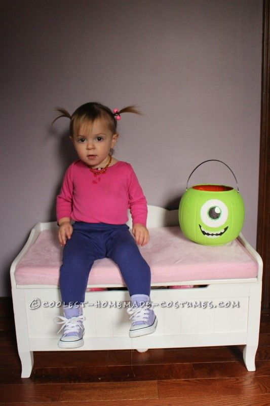 awesome boo toddler costume boo monsters inc - Monster Inc Halloween Costumes Boo