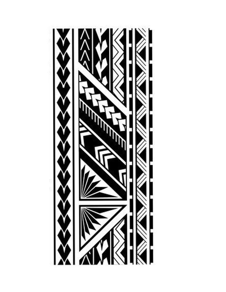 Polynesian band tattoo | Etsy
