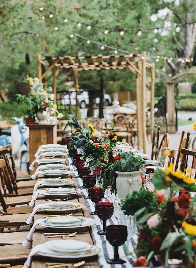 Ideas For A Dinner Party Theme Part - 17: Fall Italian Themed Dinner Party