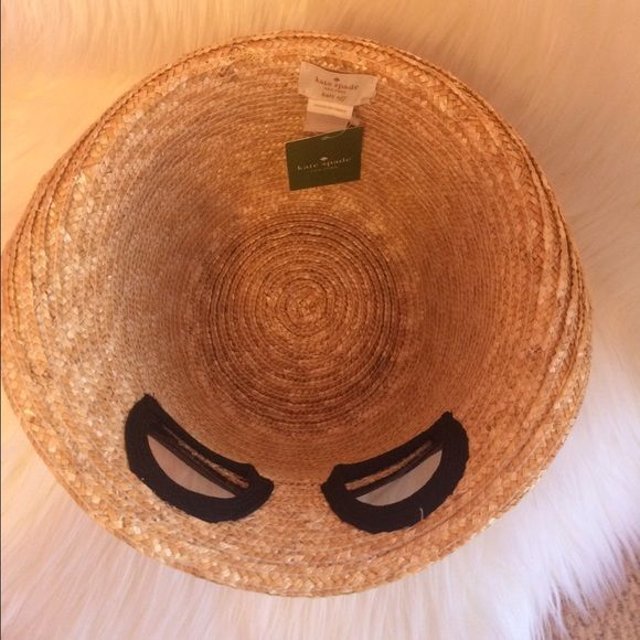 Kate spade sunglass beach straw hat