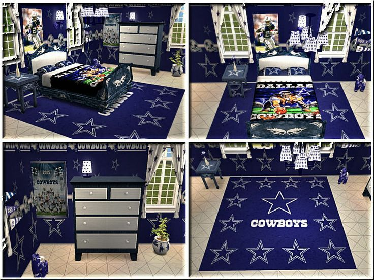 The Ultimate Dallas Cowboys Bedroom!