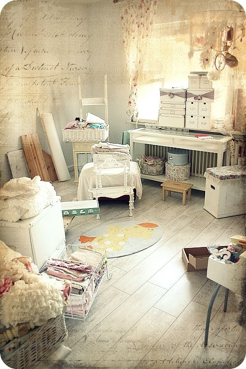 Craft room...love this look Back in the day, I would have DIED for a ...