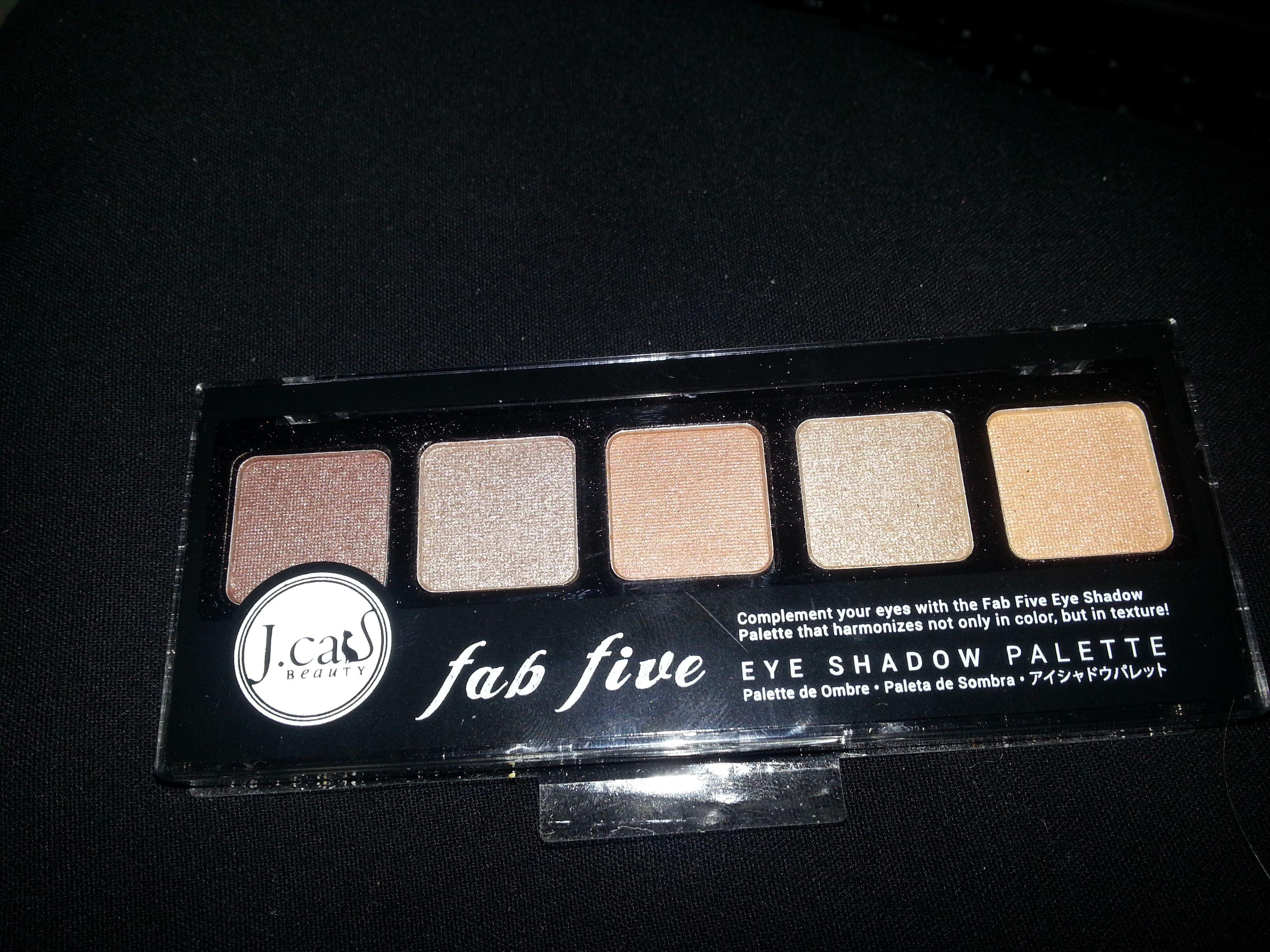 J Cat Fab Five Palette - Mighty Hazel - BN $5