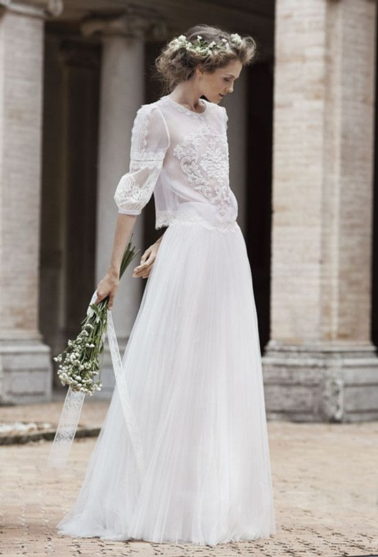 Alberta Ferretti 2016 Brautkleider Kollektion | Hochzeitsblog ...