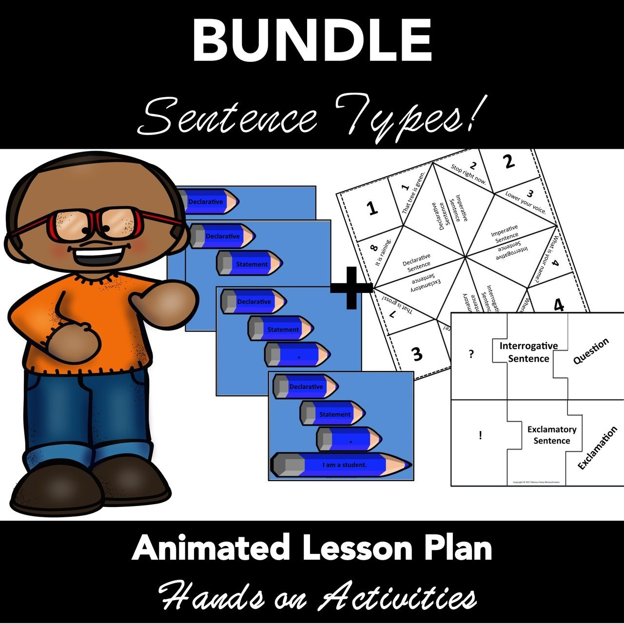 Sentence Types Animated Powerpoint Lesson Plan