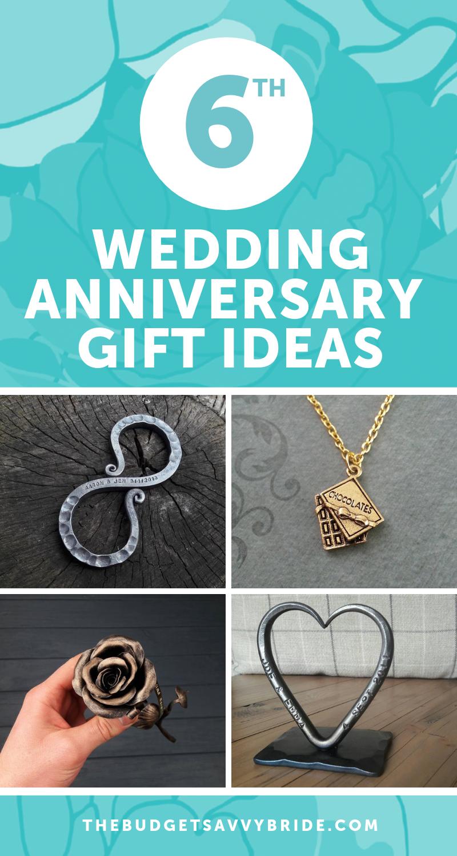 Sixth Wedding Anniversary Gift Ideas Unique Wedding Anniversary Gifts 6th Wedding Anniversary Wedding Anniversary Gifts
