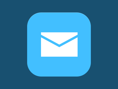 Mail by EVG | icons & buttons | App icon, Pictogram, Symbols