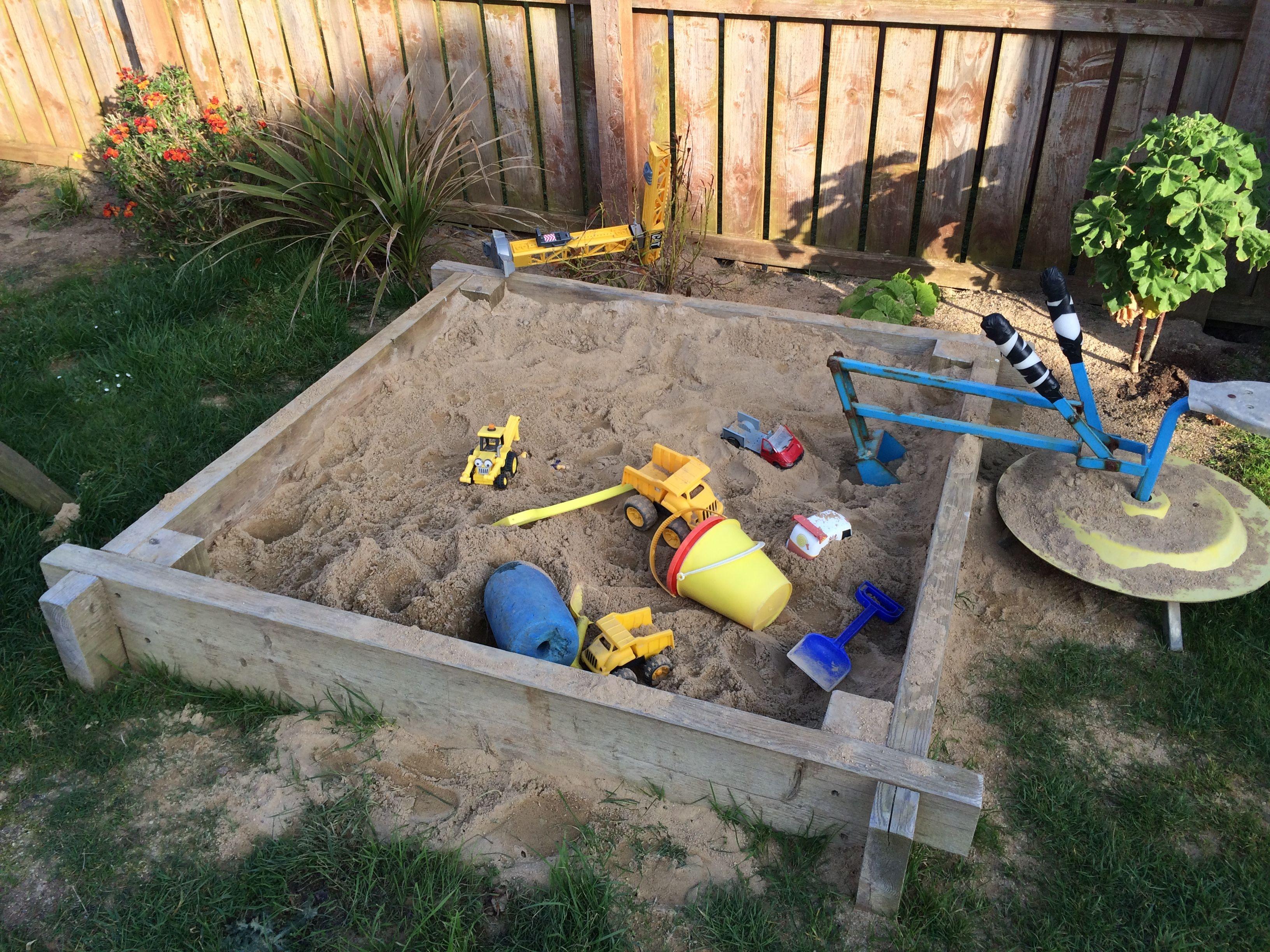 Cool Sandbox Idea For The Garden Kids Room Sandbox Kids