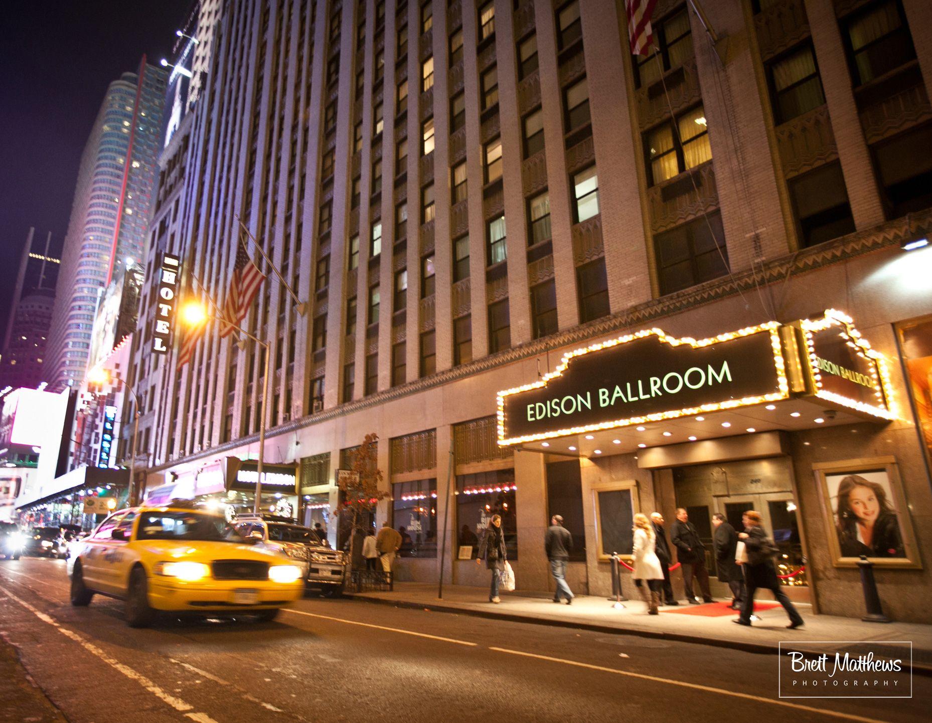 The Edison Ballroom New York Wedding venue costs