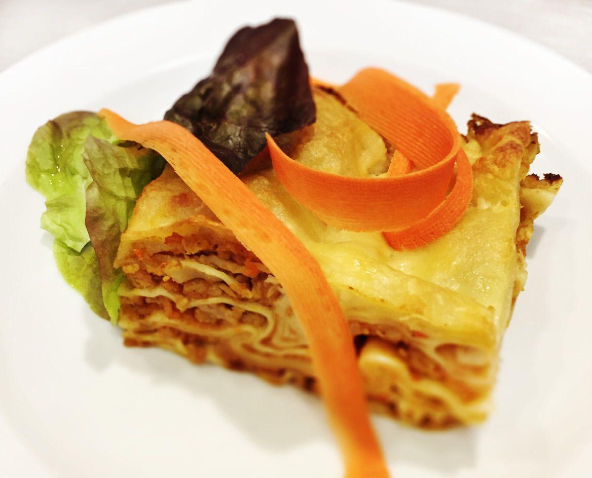Denné menu Vranov | Mäsové lasagne so syrovou krustou - reštaurácia Hotel Patriot*** #hotel #restauracia #dennemenu