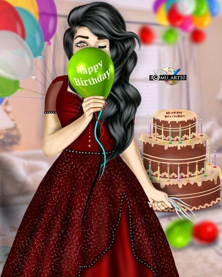 Pin By Fari Ansari On Birthday Special Cute Girl Sketch Cute Girl Drawing Art Birthday