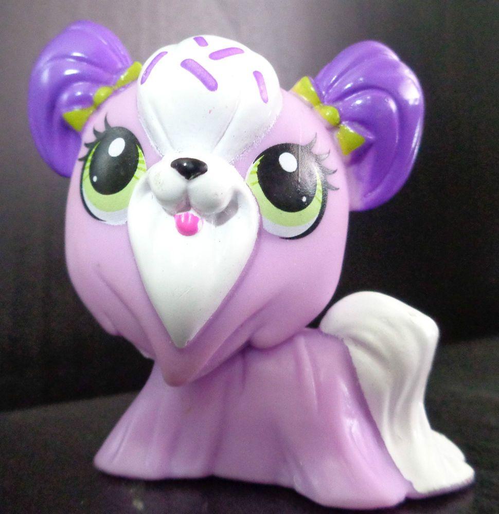 Littlest Pet Shop Lps 3334 Shih Tzu Purple Lilac Dog Lps