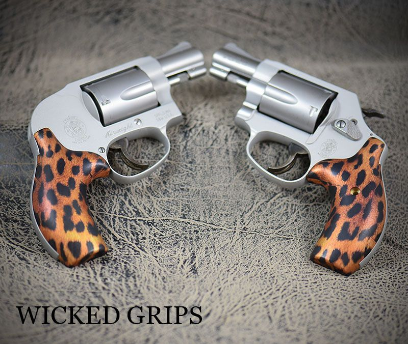 Custom smith & wesson j frame grips cheetah | Smith wesson, Cheetahs ...