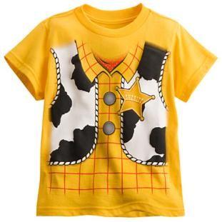 Disney Toy Story Woody Costume Boy/'s T-Shirt