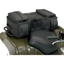 MOOSE BIG HORN RACK BAG A premium cargo system with riveted straps and carrying handles adds true functionality to your ATVRigid bag mounts easily to your ATVs rear rack