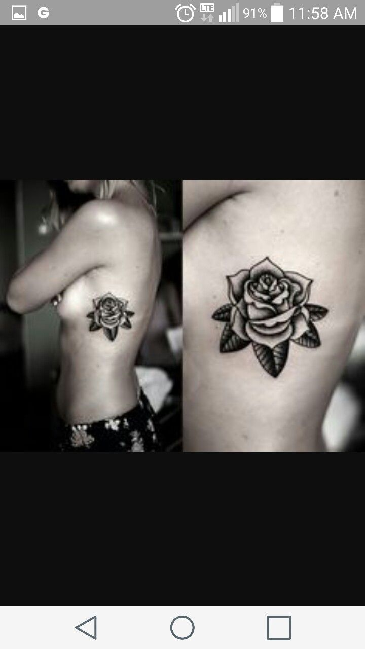hidden rose tattoo tattoos