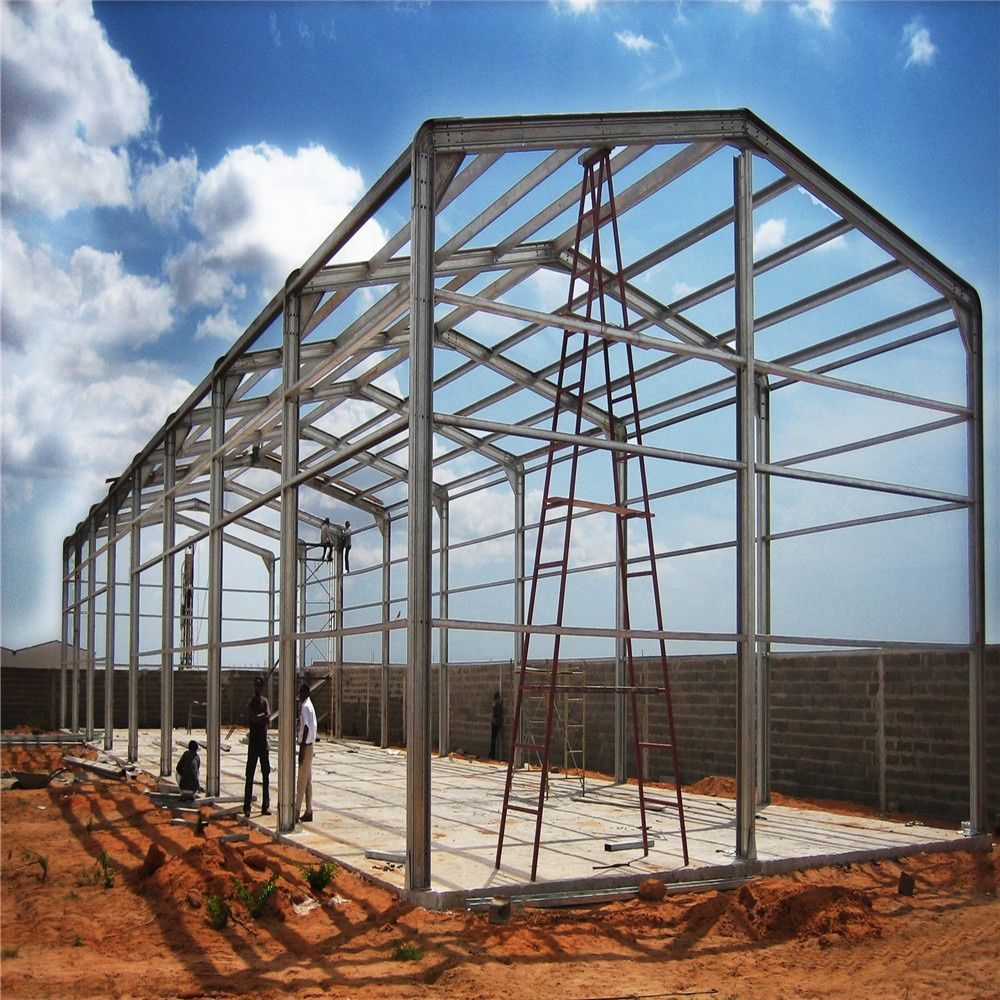 Steel Structure Warehouse Prefabricated Strong Design Buy Steel