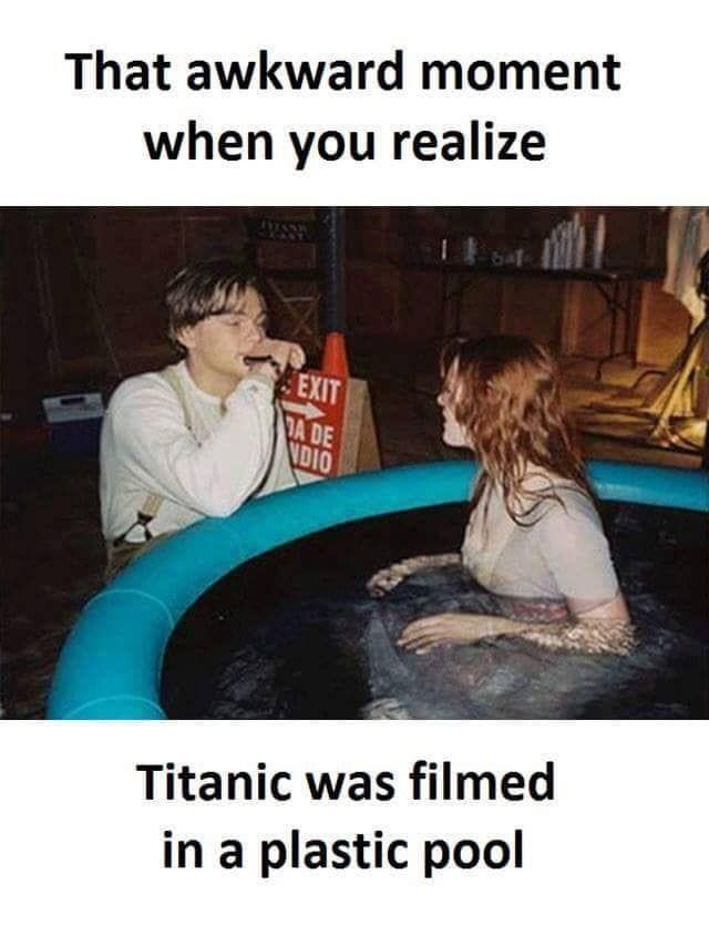 Enjoy The Best Funny Memes Make You Laugh Out Loud Titanic Funny Titanic Movie Facts Funny Pictures