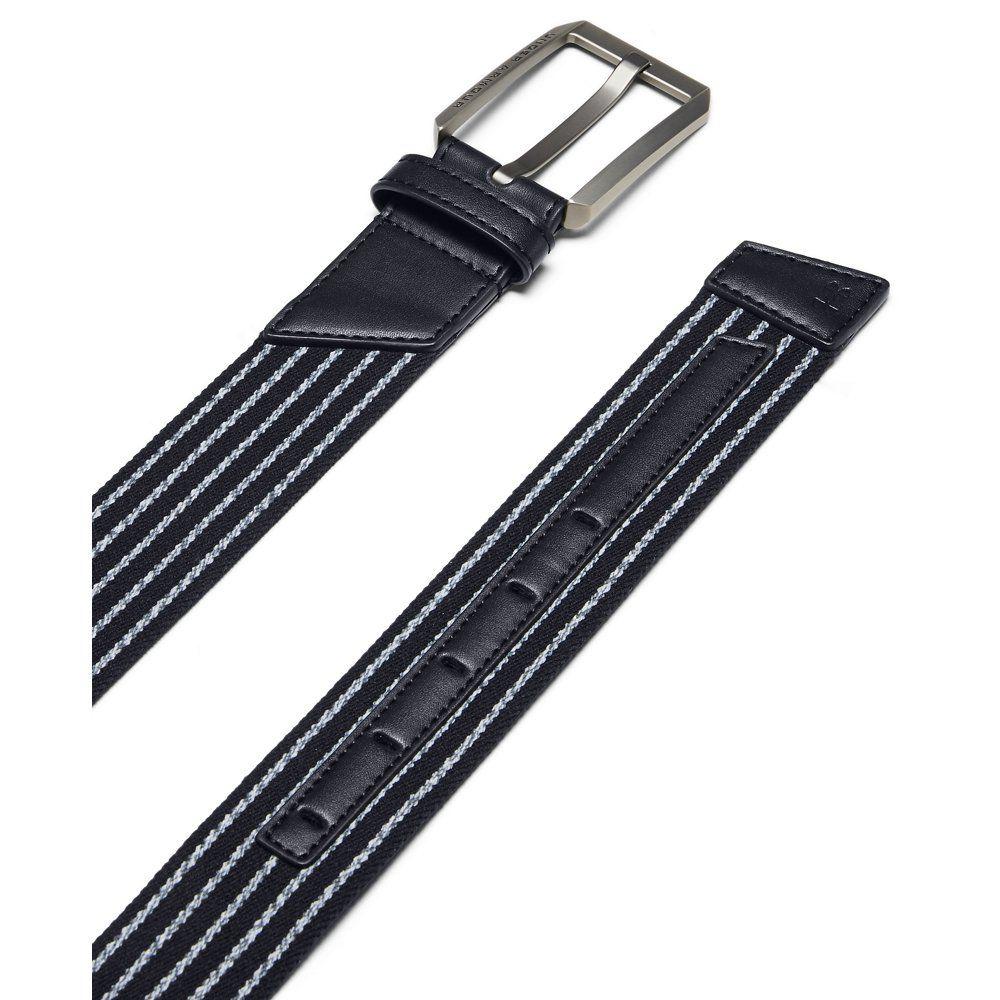 Under Armour Cinturón elástico para hombre – Azul marino 30
