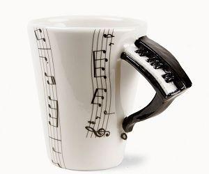 Piano Mug Mugs Coffee Music Piano Gifts