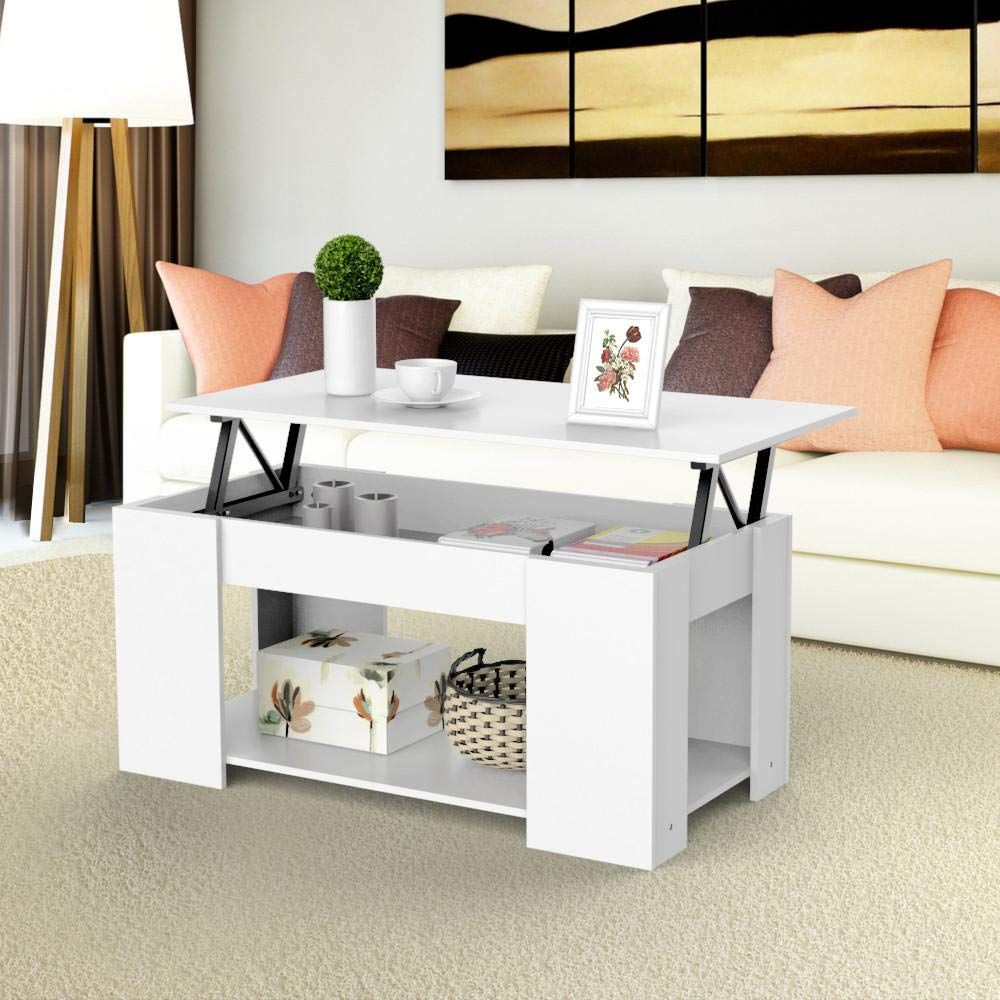 The Tabletop Can Be Easily Lifted Up And Forward To Create A Work Surface High Quality Coffee Table With Hidden Storage Coffee Table With Storage Coffee Table [ 1000 x 1000 Pixel ]