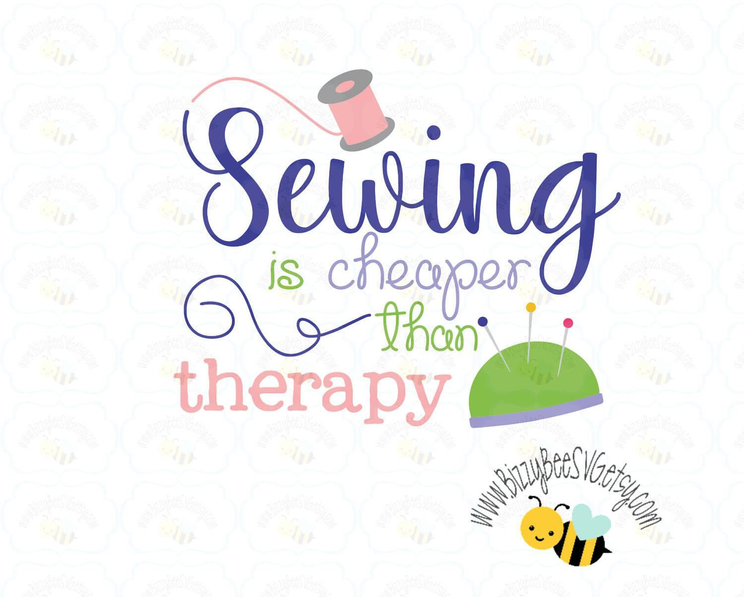 sewing SVG, DXF, EPS cut file seamstress svg sewing cut file