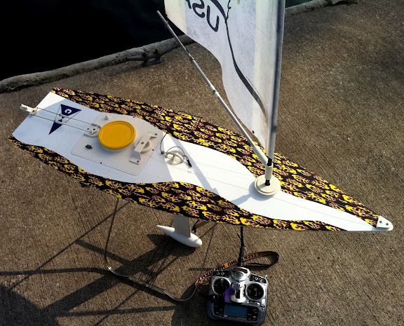 The Rc Laser Sailboat Is Often Called A Boat In A Bag