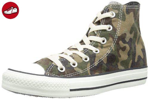 CONVERSE Chuck Taylor Camo Prt Hi 308830-61-63, Herren Sneaker, Grün (VERT CAMO), EU 41 (*Partner-Link)