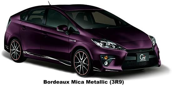 Bordeaux Mica Metallic Purple Car Prius Toyota Prius