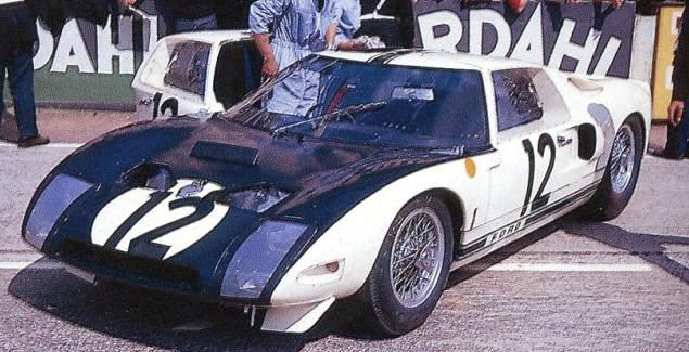 The First Ford Gt Built For The 24 H Of Le Mans 1964 Ford Gt40