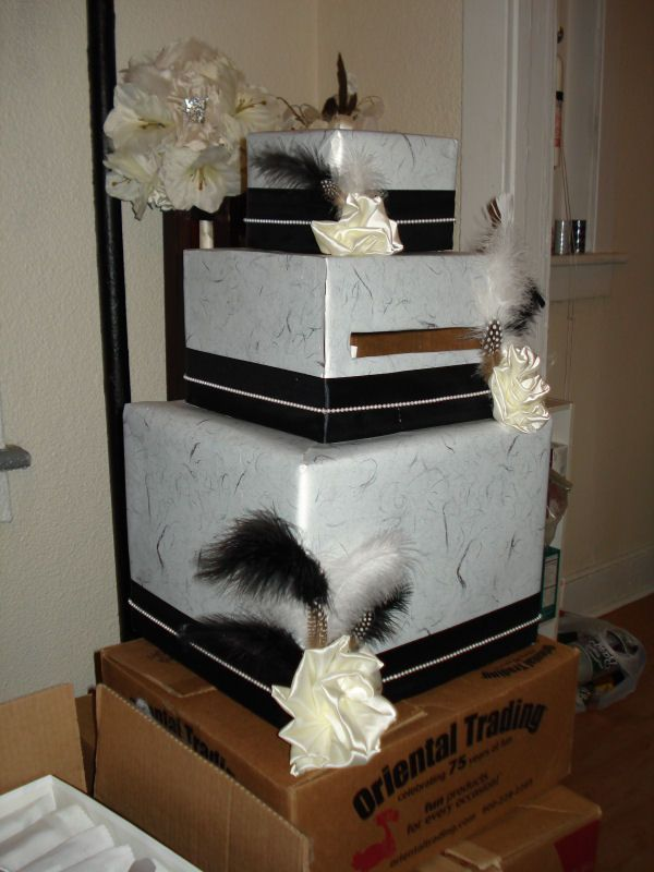 Wedding Card Boxes Ideas And DIY