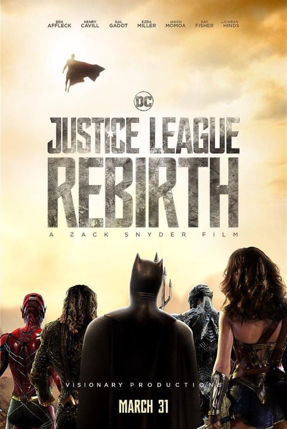 Justice League Rebirth Will Debut On March 31 2019 Follow The Instagram Account Of The Same Name And Follow Heroic Gateway Justice League Dc Universe League