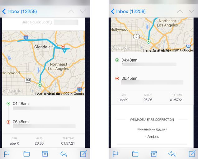 Uber Calls Woman S 20 Mile Nightmare Abduction An Inefficient Route Route Los Angeles Hollywood Northeast Los Angeles