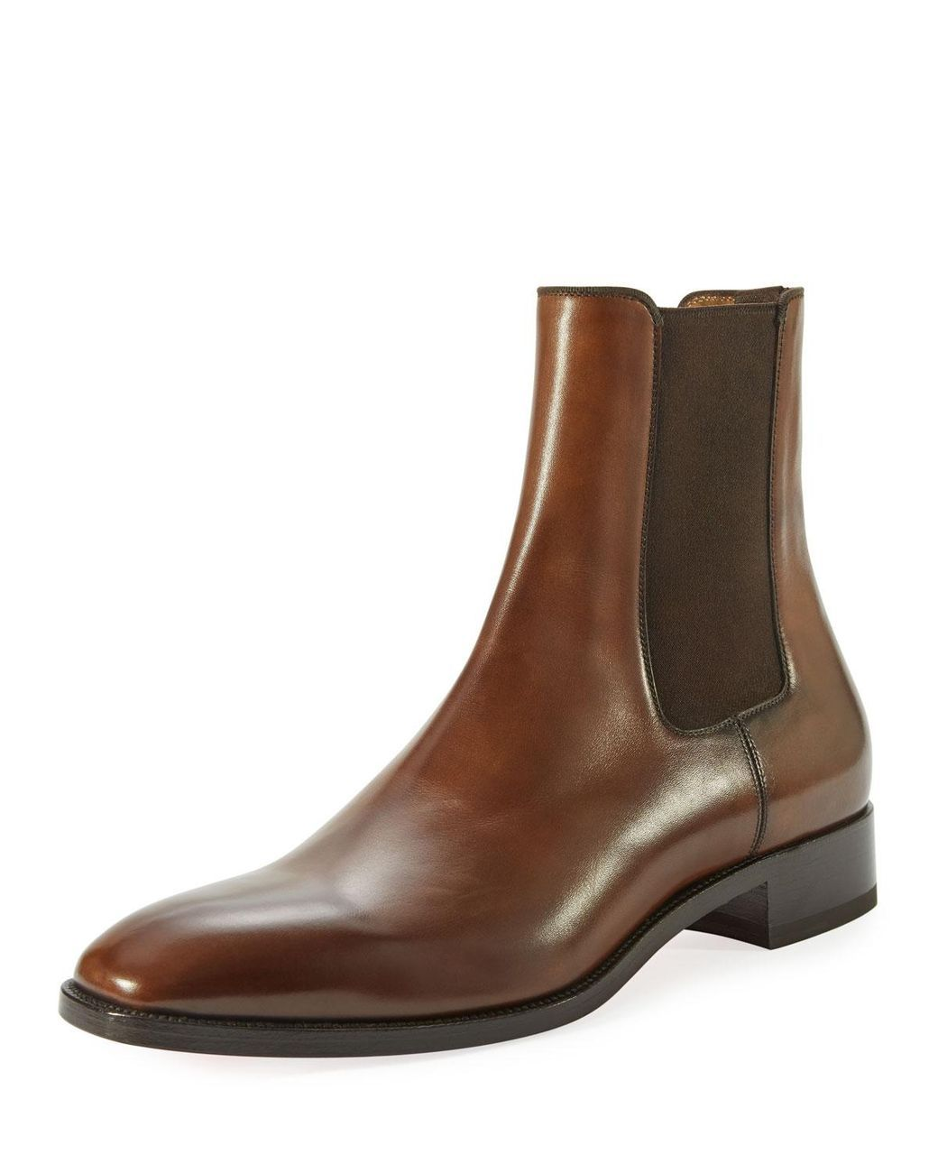 4d07c9ffdbe Christian Louboutin | Brown Samson Men's Burnished Leather Boot for ...