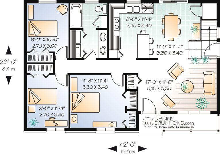 Small House Plan Maison Laprise Maison Laprise Plan De Maison Drummond Plan Maison