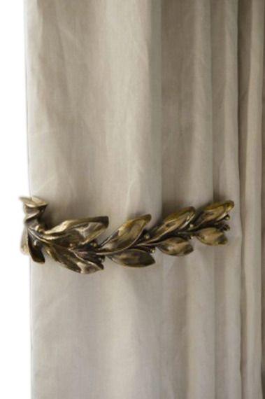 Leaf Berry Curtain Ties Rose Uniacke Rose Uniacke Curtain Ties Curtains