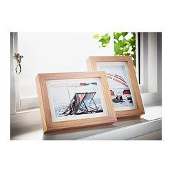 RIBBA Frame - white stained oak effect - IKEA 13x18 or 9x14 $4.99