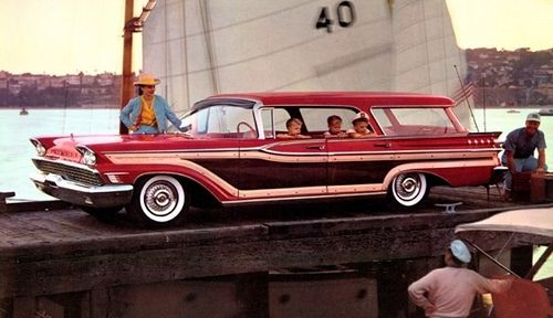 1959 Mercury Colony Park Country Cruiser