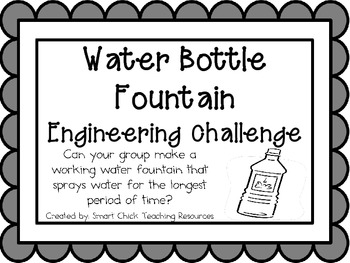 Water Bottle Fountain: Engineering Challenge Project ~ Great STEM ...