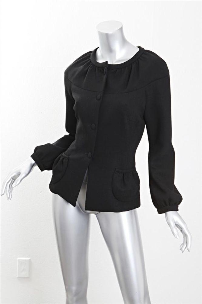 Women Ladies Tailored Long Coat Oversized Blazer One Button Loose Fashion Jacket