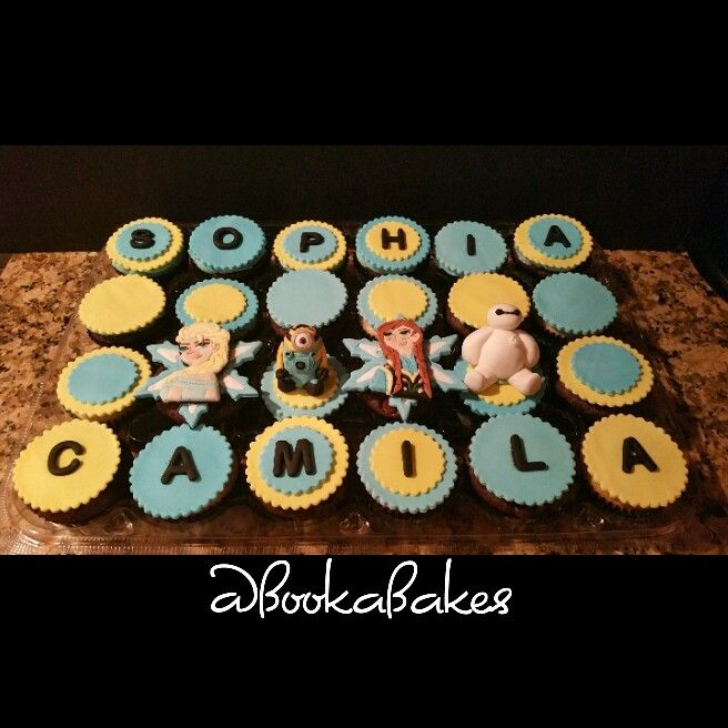 Happy Birthday Sophia and Camila from your Booka Bakes Family