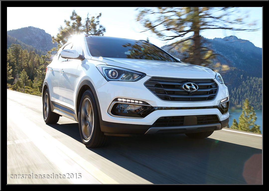 2017 Hyundai Santa Fe Sport Review Cars Release Date