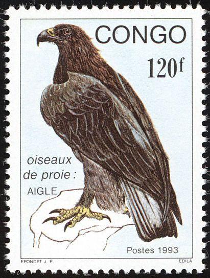 Verreauxs Eagle Stamps