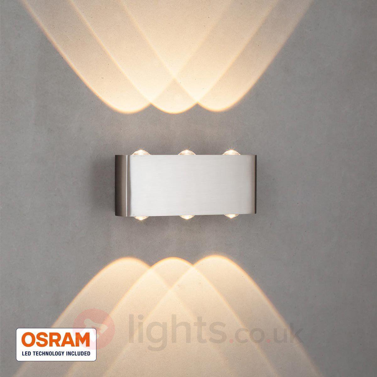 Dilara LED wall lamp with six-fold illumination sicher & bequem ...